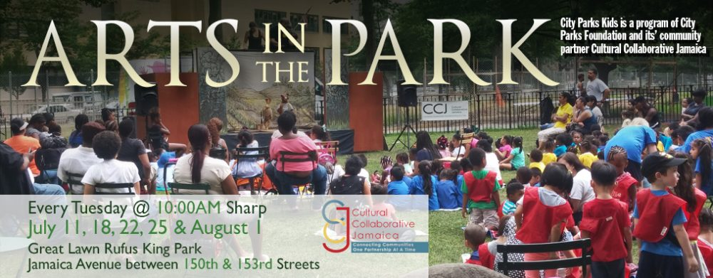 Arts in the Parks 2017